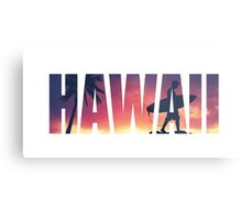 Vintage Filtered Hawaii Postcard Metal Print