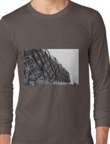 Library Of Birmingham Upper Facade Long Sleeve T-Shirt
