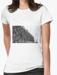 Library Of Birmingham Upper Facade Womens Fitted T-Shirt
