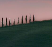 Sunset in Tuscany by Prussia