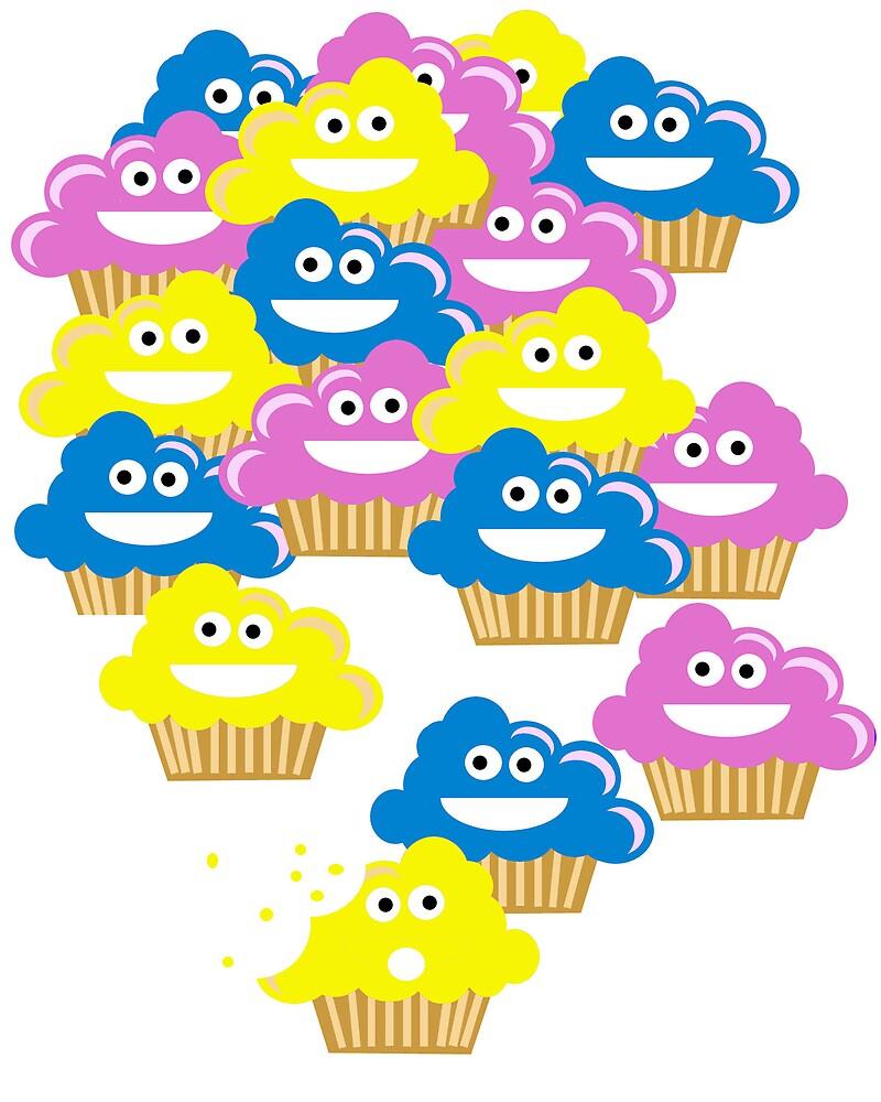 Cupcake Overload! by Latak