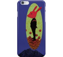 Mystery Rabbit  iPhone Case/Skin