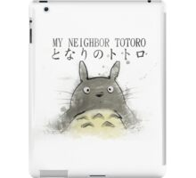 Totoro ! iPad Case/Skin
