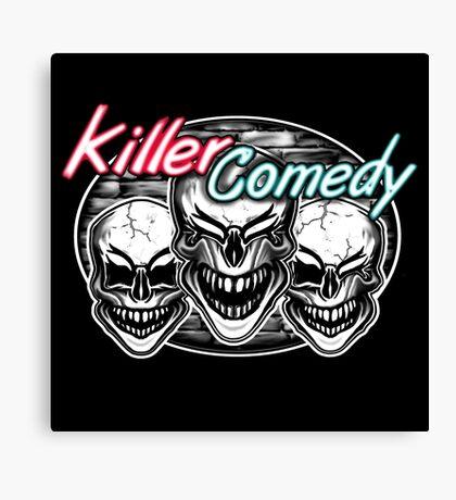 Laughing Skulls: Killer Comedy Canvas Print