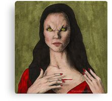 The Trial - Drusilla - BtVS Canvas Print