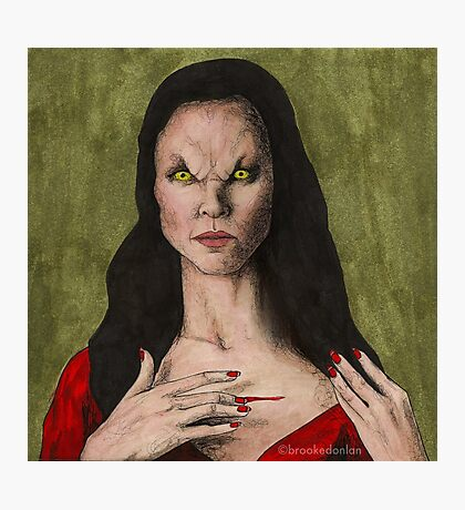 The Trial - Drusilla - BtVS Photographic Print