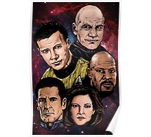 Star Trek Captains Poster