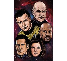 Star Trek Captains Photographic Print