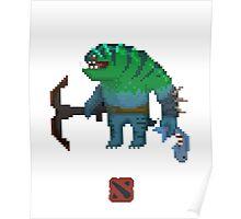 Dota 2: Tidehunter (Pixel) Poster