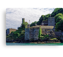 Dartmouth Castle #2, Devon, England Canvas Print