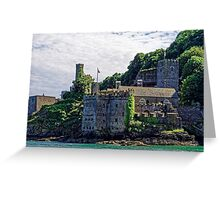 Dartmouth Castle #2, Devon, England Greeting Card