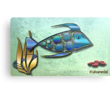 The Metal Aquarium Collection Metal Print