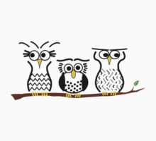 Three Little Owls Kids Clothes