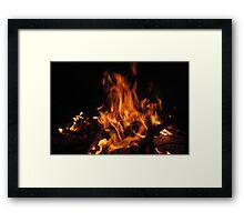 Flamin' Hot Leggin's Framed Print