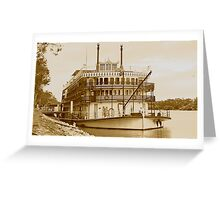 Murray Princess - Mannum - South Australia Greeting Card