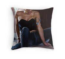 Mistress Didi Throw Pillow