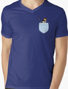 Pocket Moriarty Mens V-Neck T-Shirt