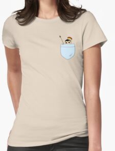 Pocket Moriarty Womens Fitted T-Shirt