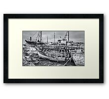 Wasting Away... Framed Print