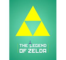 Legend of Zelda glow print Photographic Print