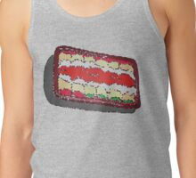 Tub of Lasagna rolls- stained glass Tank Top