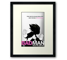 DBZ's BAD MAN Framed Print