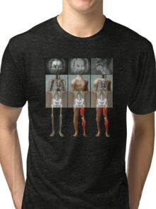 Meeting of the mangled Tshirt Tri-blend T-Shirt