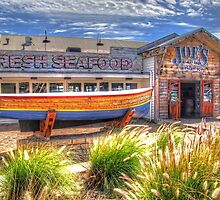 Joe`s Fish Shack - HDR - Fremantle WA by Colin  Williams Photography