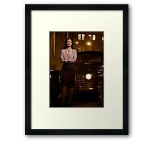 Agent Carter - Cropped Promo Still Framed Print
