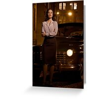 Agent Carter - Cropped Promo Still Greeting Card