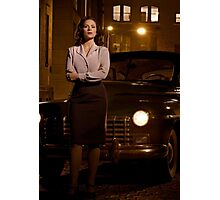 Agent Carter - Cropped Promo Still Photographic Print