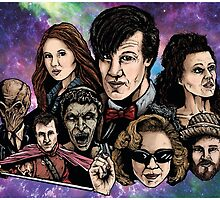 11th Dr. Who  by ArtOfOldSchool