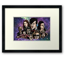 11th Dr. Who  Framed Print