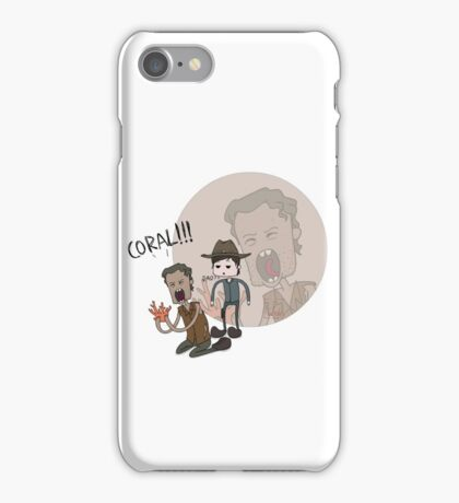 The Walking Dead Coral iPhone Case/Skin