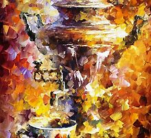 Russian Tea — Buy Now Link - www.etsy.com/listing/223401525 by Leonid  Afremov