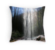 Shining Through Throw Pillow