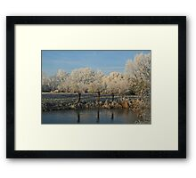 Freezing Mist Framed Print