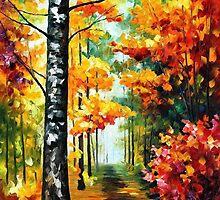 Soul Time — Buy Now Link - www.etsy.com/listing/223532552 by Leonid  Afremov