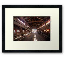 Looking through Wertz's Covered Bridge Framed Print