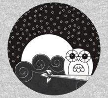 Whoot Owl - Circle Design Kids Clothes