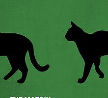 The Matrix minimalist print by MicrowaveDesign