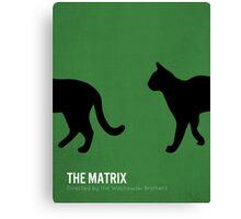 The Matrix minimalist print Canvas Print