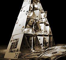 Gambling pyramid by Gabriel Skoropada