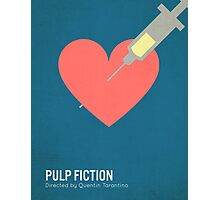Pulp Fiction minimalist print Photographic Print