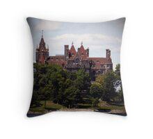 The Castle, a Broken Dream, and Heart... Throw Pillow