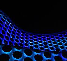 Neon Circles by Paul  Kane