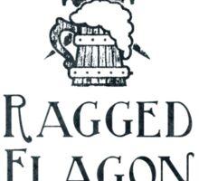 Visit the Ragged Flagon! Sticker