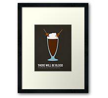 There Will Be Blood minimalist print Framed Print
