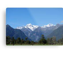 Glaciers of New Zealand Metal Print