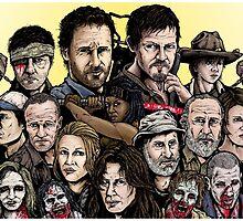 Walking Dead  by ArtOfOldSchool